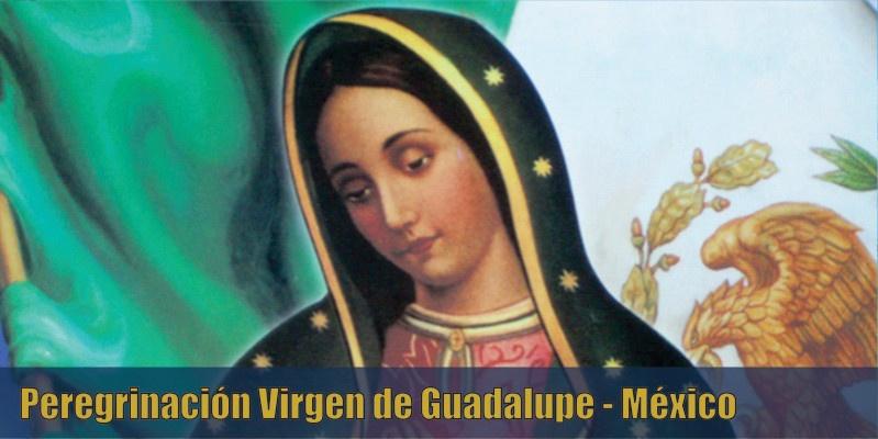Peregrinación Virgen de Guadalupe Mexico