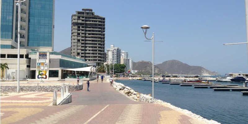 Muelle en la Bahia de Santa Marta