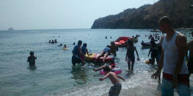 Playa Blanca en Santa Marta