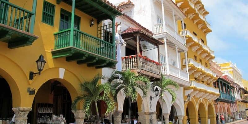 Calles en Cartagena de Indias