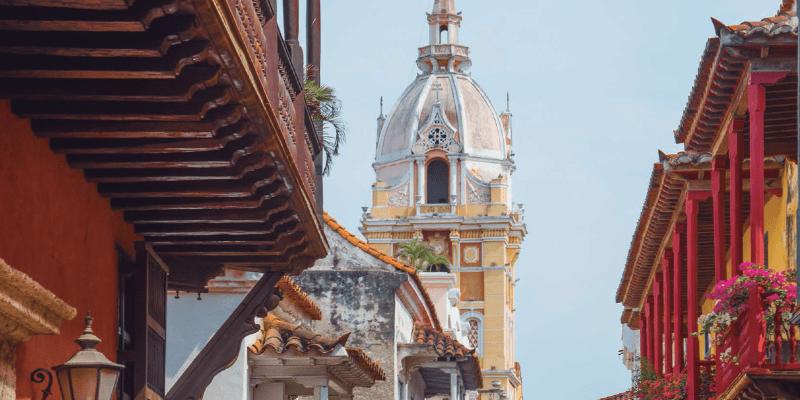 Torre Calles Cartagena de Indias