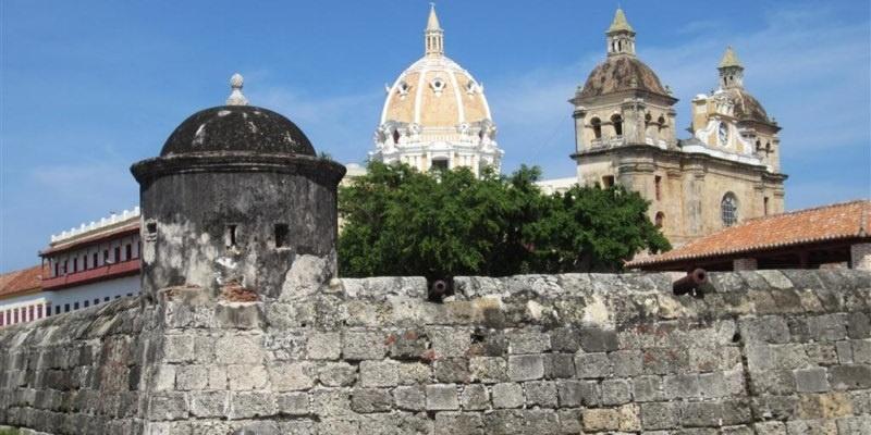 Murallas en Cartagena de Indias