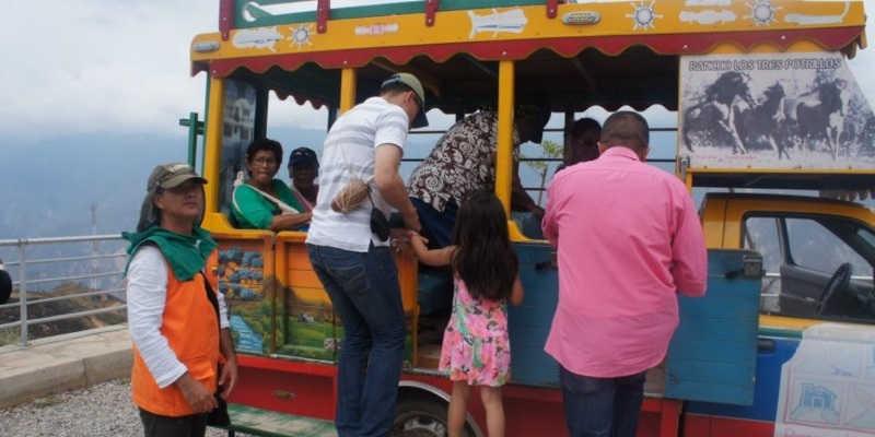 Transporte Interno Parque Nacional del Chicamocha