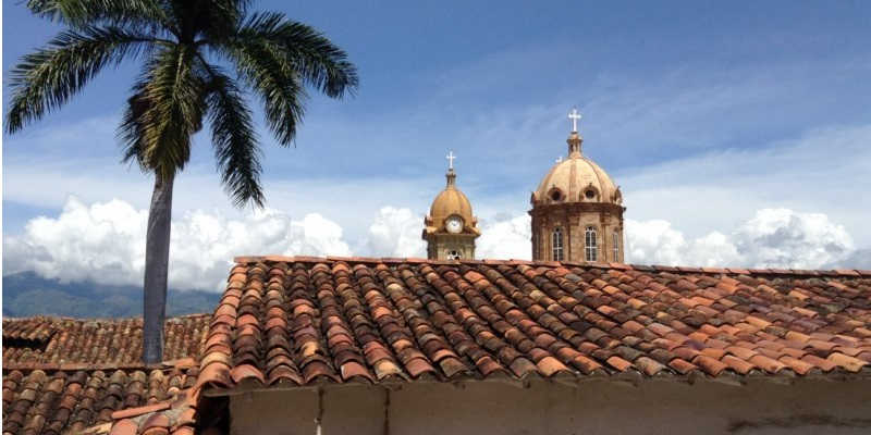 Cúpula Iglesia Socorro Santander