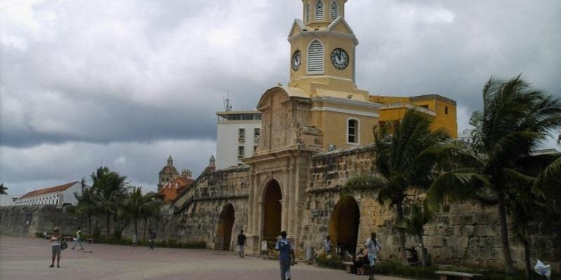 Torrel del Reloj Cartagena de Indias