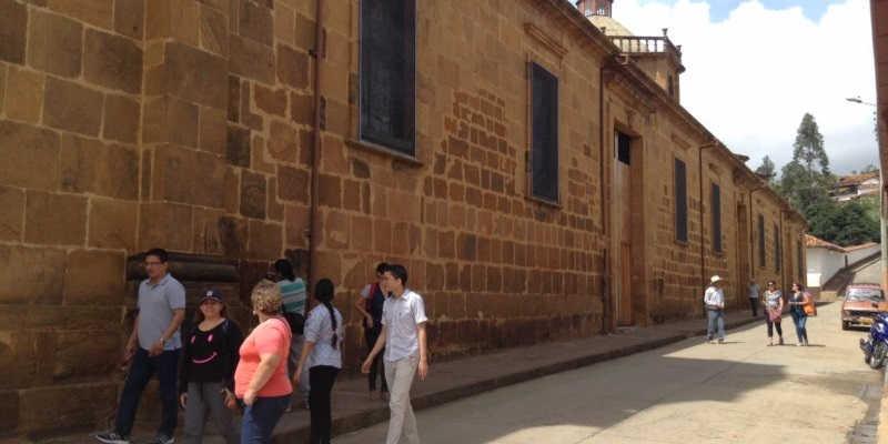 Iglesia Zapatoca Santander