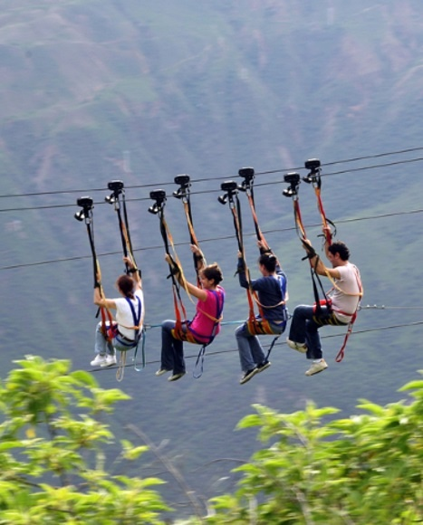 Cable Vuelo Parque Chicamocha